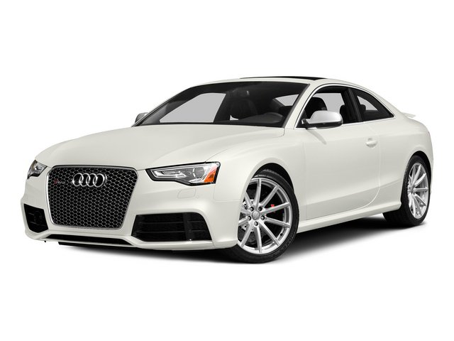 Ibis White 2015 Audi RS 5 Pictures RS 5 Coupe 2D RS5 AWD V8 photos front view