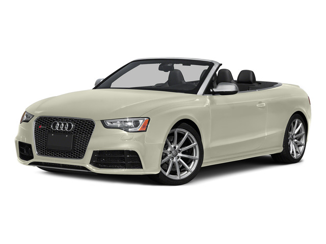 Glacier White Metallic/Black Roof 2015 Audi RS 5 Pictures RS 5 Convertible 2D RS5 AWD V8 photos front view