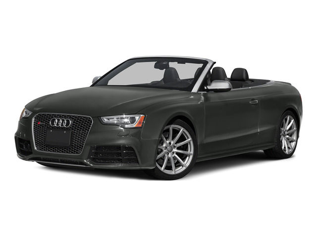 Daytona Gray Pearl Effect/Black Roof 2015 Audi RS 5 Pictures RS 5 Convertible 2D RS5 AWD V8 photos front view