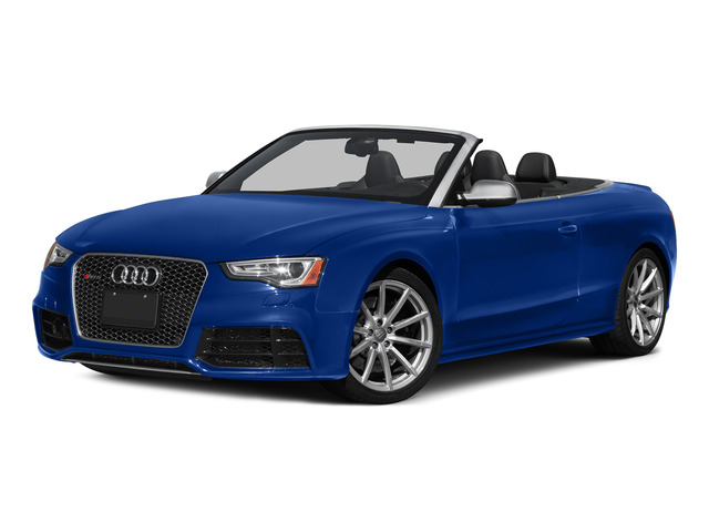 Sepang Blue Pearl Effect/Black Roof 2015 Audi RS 5 Pictures RS 5 Convertible 2D RS5 AWD V8 photos front view