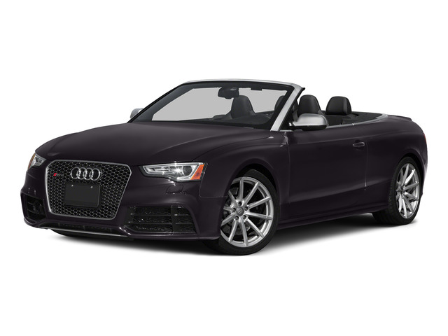 Panther Black Crystal Effect/Black Roof 2015 Audi RS 5 Pictures RS 5 Convertible 2D RS5 AWD V8 photos front view
