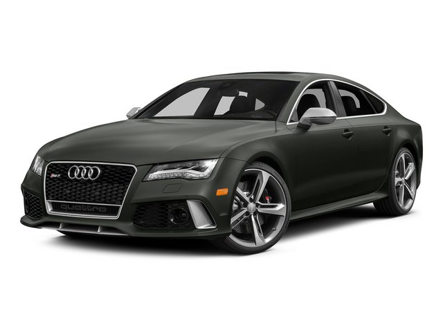 Daytona Gray Pearl Effect 2015 Audi RS 7 Pictures RS 7 Sedan 4D Prestige AWD photos front view