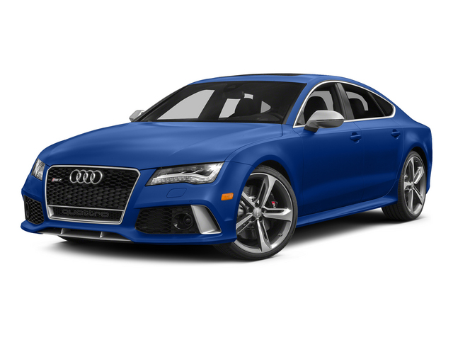 Sepang Blue Pearl Effect 2015 Audi RS 7 Pictures RS 7 Sedan 4D Prestige AWD photos front view
