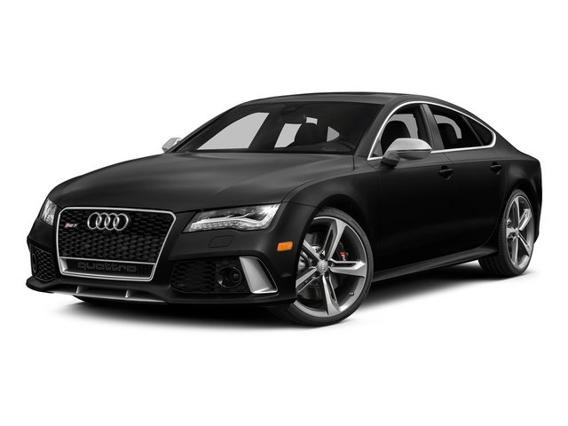 Phantom Black Pearl Effect 2015 Audi RS 7 Pictures RS 7 Sedan 4D Prestige AWD photos front view