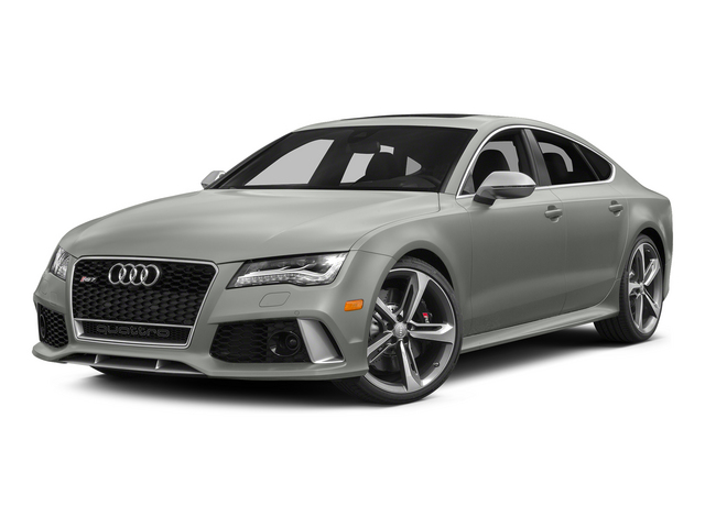 Suzuka Gray Metallic 2015 Audi RS 7 Pictures RS 7 Sedan 4D Prestige AWD photos front view