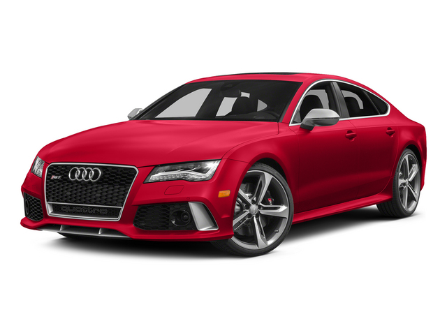 Misano Red Pearl Effect 2015 Audi RS 7 Pictures RS 7 Sedan 4D Prestige AWD photos front view