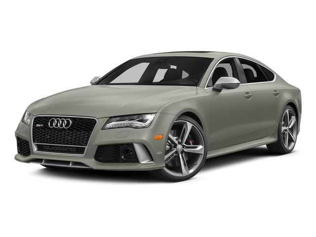 Prism Silver Crystal Effect 2015 Audi RS 7 Pictures RS 7 Sedan 4D Prestige AWD photos front view