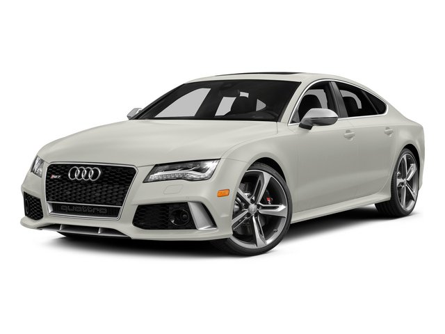 Ibis White 2015 Audi RS 7 Pictures RS 7 Sedan 4D Prestige AWD photos front view