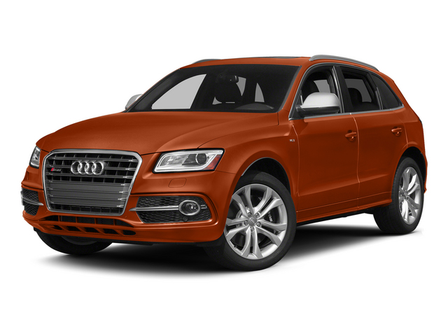 Volcano Red Metallic 2015 Audi SQ5 Pictures SQ5 Utility 4D Premium Plus AWD V6 photos front view