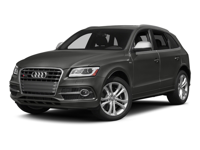 Lava Gray Pearl Effect 2015 Audi SQ5 Pictures SQ5 Utility 4D Premium Plus AWD V6 photos front view