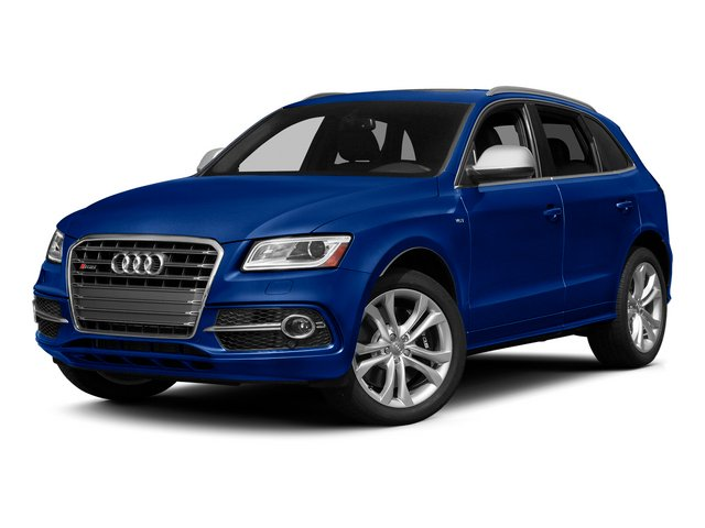 Sepang Blue Pearl Effect 2015 Audi SQ5 Pictures SQ5 Utility 4D Premium Plus AWD V6 photos front view