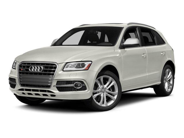 Ibis White 2015 Audi SQ5 Pictures SQ5 Utility 4D Premium Plus AWD V6 photos front view