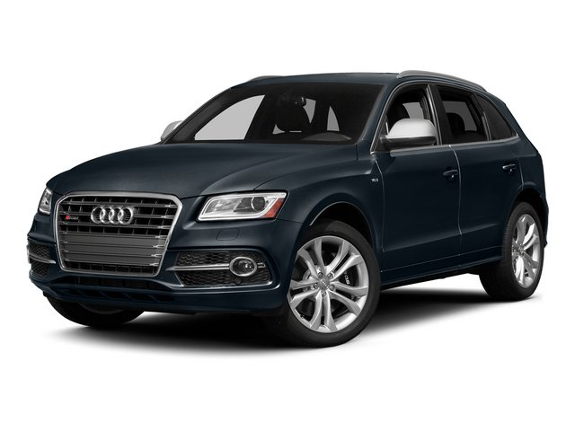 Moonlight Blue Metallic 2015 Audi SQ5 Pictures SQ5 Utility 4D Premium Plus AWD V6 photos front view