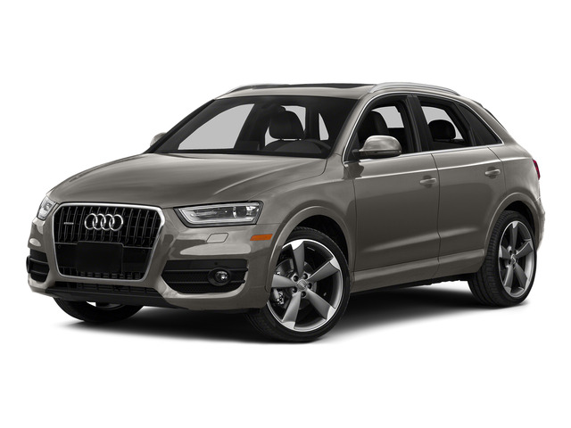 Tundra Brown Metallic 2015 Audi Q3 Pictures Q3 Utility 4D 2.0T Prestige AWD photos front view