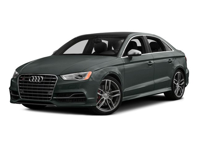 Monsoon Gray Metallic 2015 Audi S3 Pictures S3 Sedan 4D Prestige AWD I4 Turbo photos front view