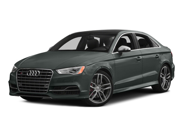 Monsoon Gray Metallic 2015 Audi S3 Pictures S3 Sedan 4D Premium Plus AWD I4 Turbo photos front view