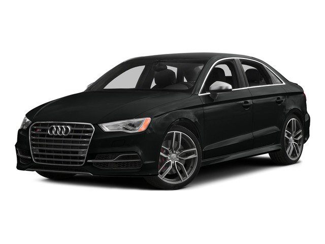 Mythos Black Metallic 2015 Audi S3 Pictures S3 Sedan 4D Prestige AWD I4 Turbo photos front view