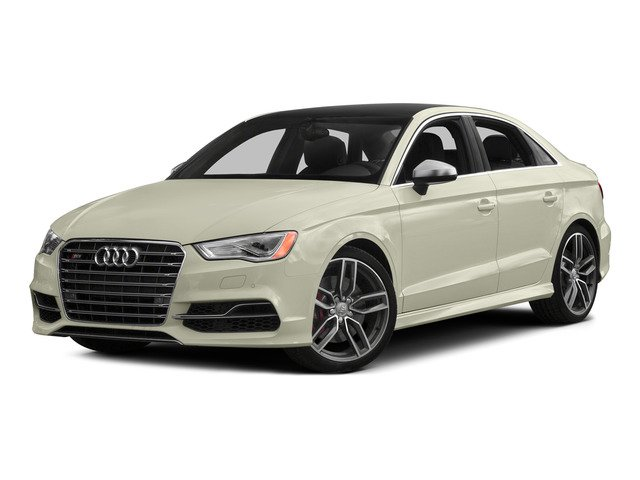 Glacier White Metallic 2015 Audi S3 Pictures S3 Sedan 4D Premium Plus AWD I4 Turbo photos front view