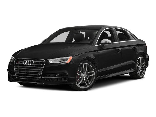 Brilliant Black 2015 Audi S3 Pictures S3 Sedan 4D Prestige AWD I4 Turbo photos front view