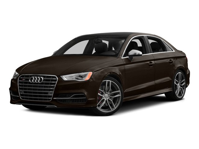 Beluga Brown Metallic 2015 Audi S3 Pictures S3 Sedan 4D Prestige AWD I4 Turbo photos front view