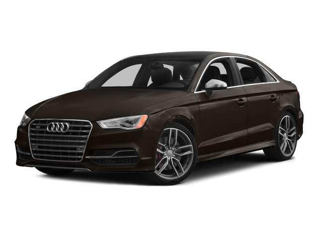 Beluga Brown Metallic 2015 Audi S3 Pictures S3 Sedan 4D Premium Plus AWD I4 Turbo photos front view