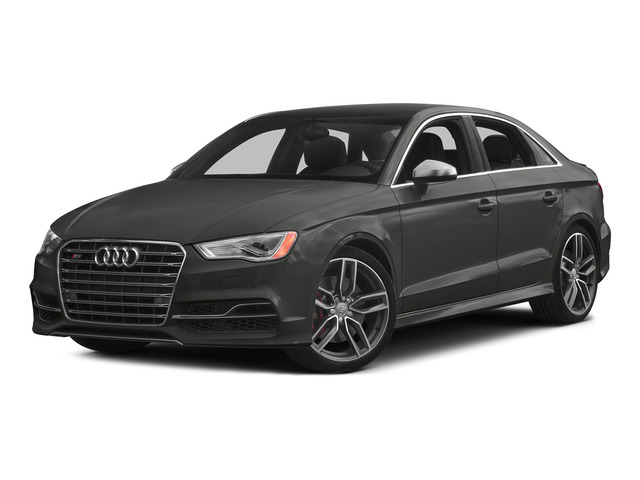 Daytona Gray Pearl Effect 2015 Audi S3 Pictures S3 Sedan 4D Prestige AWD I4 Turbo photos front view