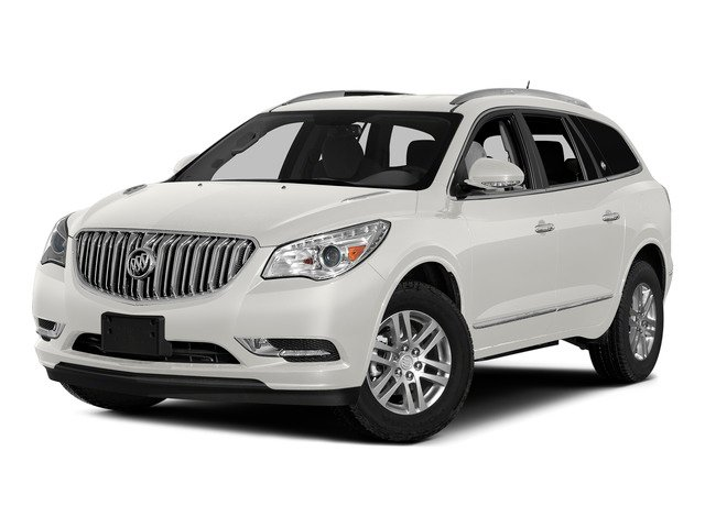 White Opal 2015 Buick Enclave Pictures Enclave Utility 4D Leather 2WD V6 photos front view