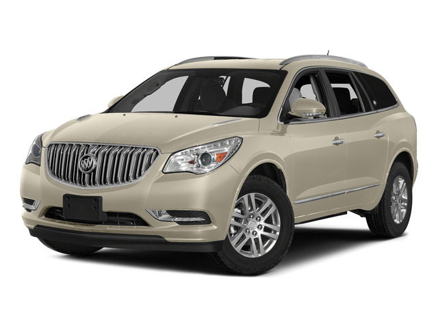 Champagne Silver Metallic 2015 Buick Enclave Pictures Enclave Utility 4D Leather 2WD V6 photos front view