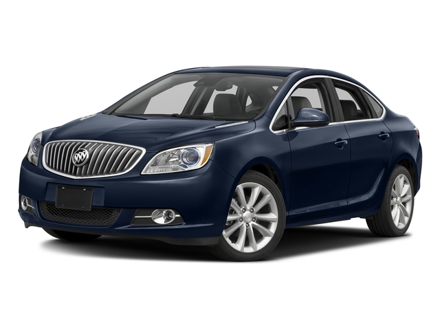 Dark Sapphire Blue Metallic 2015 Buick Verano Pictures Verano Sedan 4D I4 photos front view