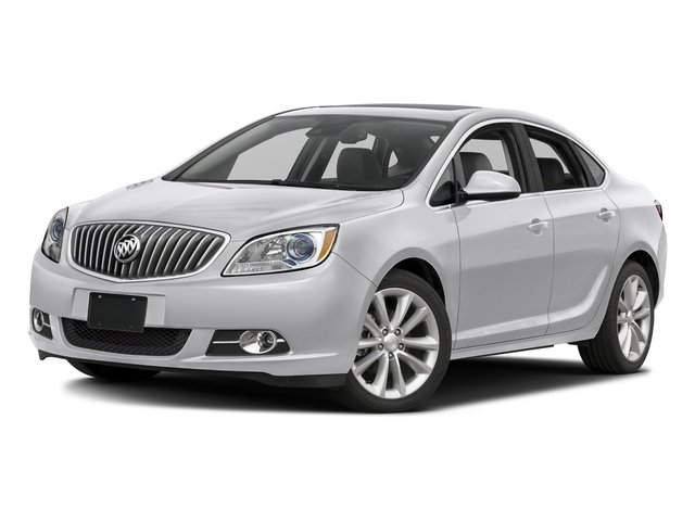 Summit White 2015 Buick Verano Pictures Verano Sedan 4D Convenience I4 photos front view
