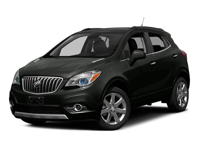 Carbon Black Metallic 2015 Buick Encore Pictures Encore Utility 4D Premium 2WD I4 Turbo photos front view