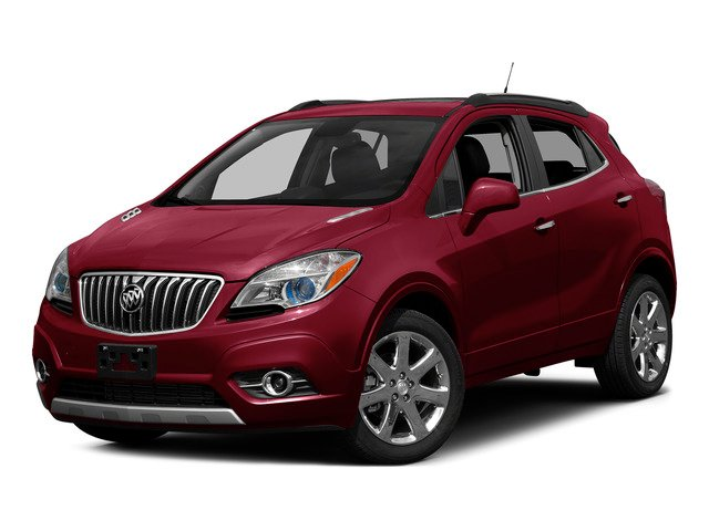 Ruby Red Metallic 2015 Buick Encore Pictures Encore Utility 4D Premium 2WD I4 Turbo photos front view