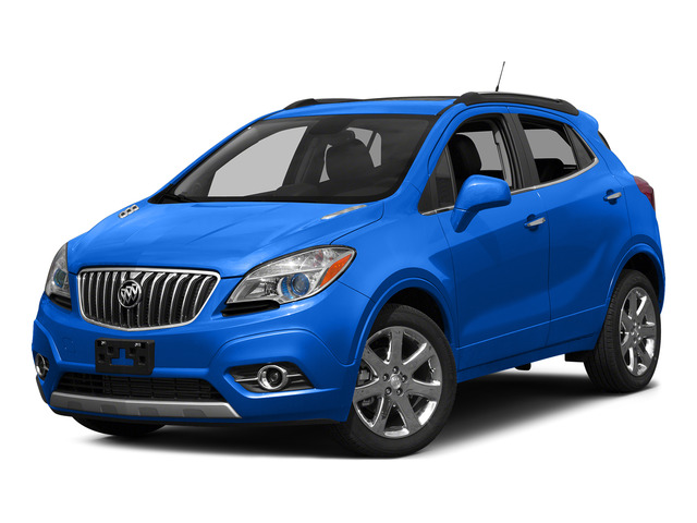 Brilliant Blue Metallic 2015 Buick Encore Pictures Encore Utility 4D Premium 2WD I4 Turbo photos front view