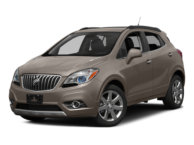 Cocoa Silver Metallic 2015 Buick Encore Pictures Encore Utility 4D Premium 2WD I4 Turbo photos front view