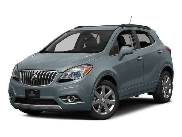 Satin Steel Gray Metallic 2015 Buick Encore Pictures Encore Utility 4D Premium 2WD I4 Turbo photos front view