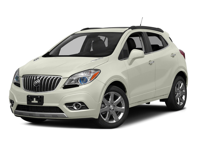 White Pearl Tricoat 2015 Buick Encore Pictures Encore Utility 4D Premium 2WD I4 Turbo photos front view
