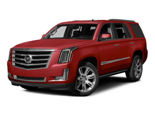 Crystal Red Tintcoat 2015 Cadillac Escalade Pictures Escalade Utility 4D 2WD V8 photos front view