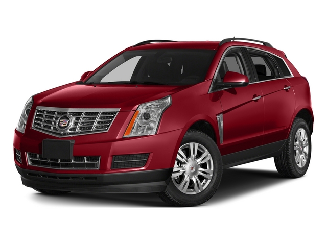 Crystal Red Tintcoat 2015 Cadillac SRX Pictures SRX Utility 4D Premium AWD V6 photos front view