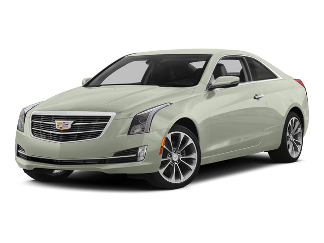 Crystal White Tricoat 2015 Cadillac ATS Coupe Pictures ATS Coupe 2D Premium AWD V6 photos front view