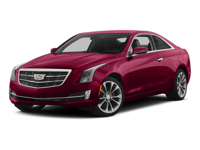 Red Obsession Tintcoat 2015 Cadillac ATS Coupe Pictures ATS Coupe 2D Premium AWD V6 photos front view