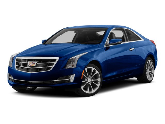 Opulent Blue Metallic 2015 Cadillac ATS Coupe Pictures ATS Coupe 2D Premium AWD V6 photos front view