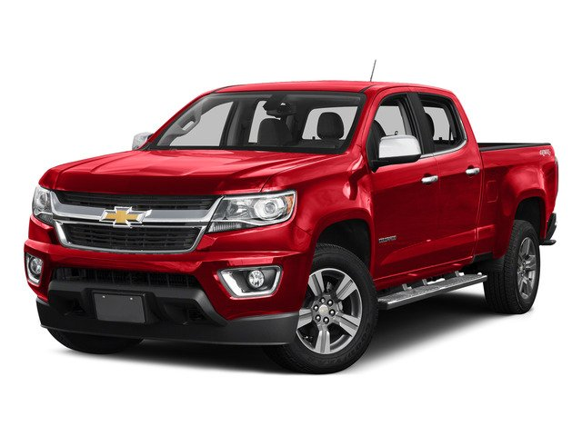 Red Hot 2015 Chevrolet Colorado Pictures Colorado Crew Cab Work Truck 2WD photos front view