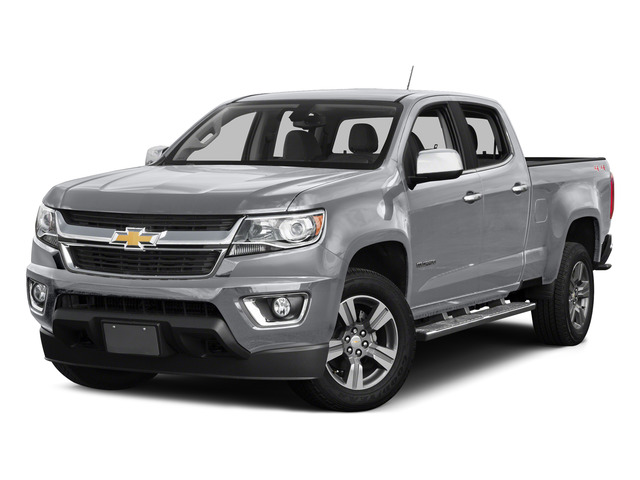 Silver Ice Metallic 2015 Chevrolet Colorado Pictures Colorado Crew Cab Work Truck 2WD photos front view