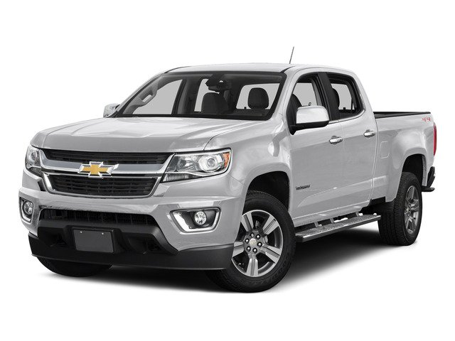 Summit White 2015 Chevrolet Colorado Pictures Colorado Crew Cab Work Truck 2WD photos front view