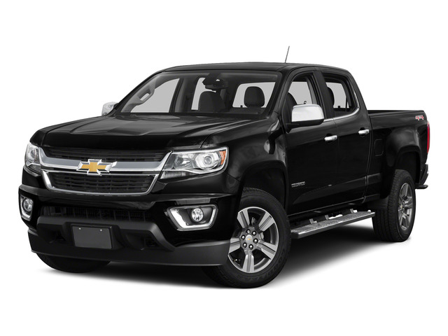 Black 2015 Chevrolet Colorado Pictures Colorado Crew Cab Work Truck 2WD photos front view
