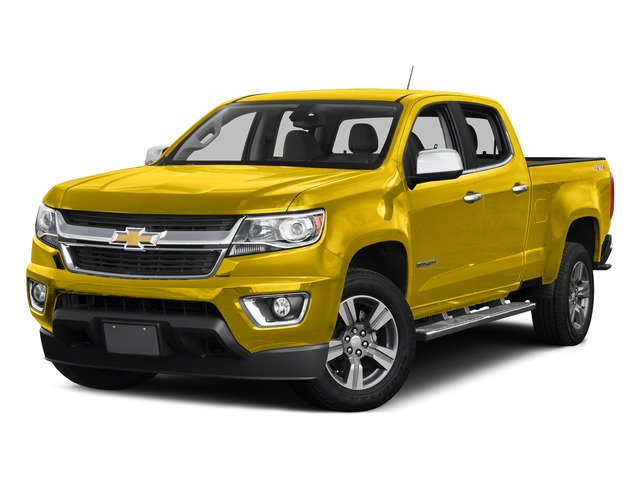 Rally Yellow 2015 Chevrolet Colorado Pictures Colorado Crew Cab Work Truck 2WD photos front view