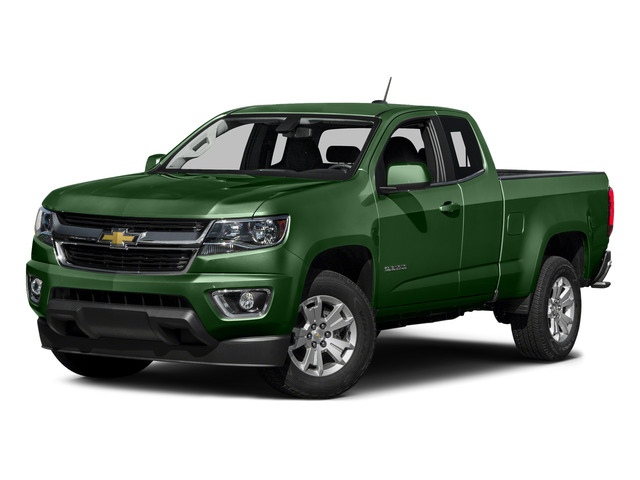 Rainforest Green Metallic 2015 Chevrolet Colorado Pictures Colorado Extended Cab LT 4WD photos front view