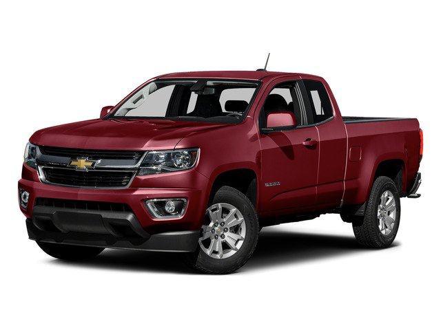 Red Rock Metallic 2015 Chevrolet Colorado Pictures Colorado Extended Cab LT 4WD photos front view