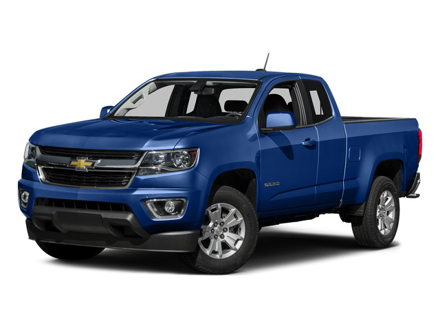 Laser Blue 2015 Chevrolet Colorado Pictures Colorado Extended Cab LT 4WD photos front view