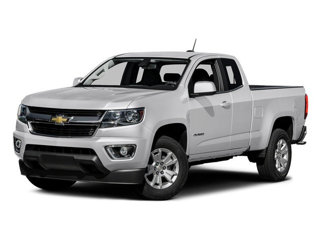 Summit White 2015 Chevrolet Colorado Pictures Colorado Extended Cab LT 4WD photos front view